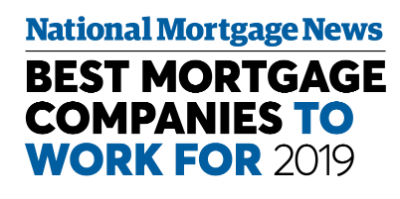 Natioal Mortgage News: Best Mortgage Companies to Work for 2019